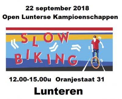 Open Lunters Kampioenschap Slowbiking @ Geref kerk | Lunteren | Gelderland | Nederland